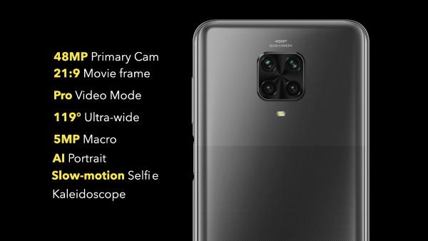 Основная камера Poco M2 Pro