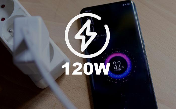 120-ватная зарядка смартфона