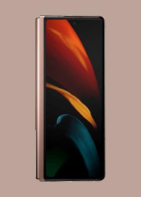 Внешний дисплей Samsung Galaxy Z Fold 2