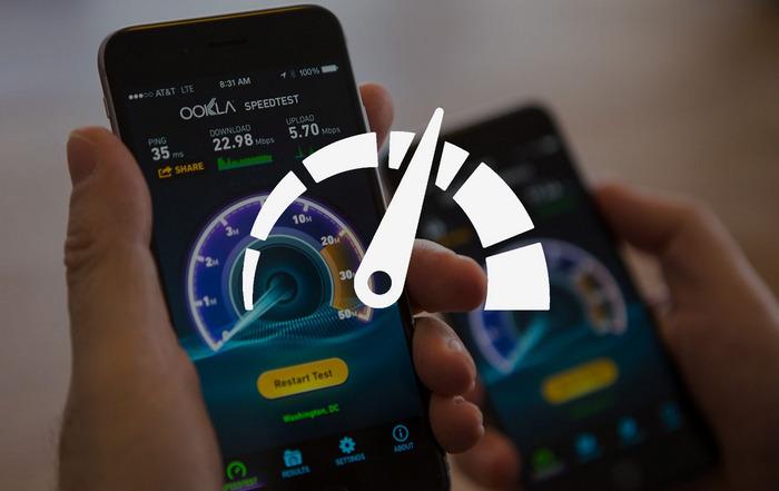 Скорость интернета в смартфоне
