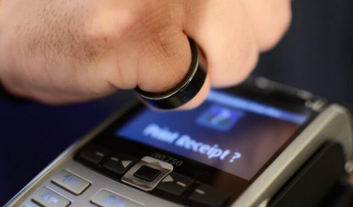 Кольцо для оплаты покупок