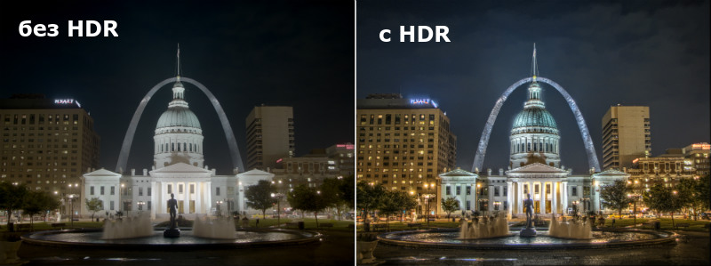 HDR в камере смартфона