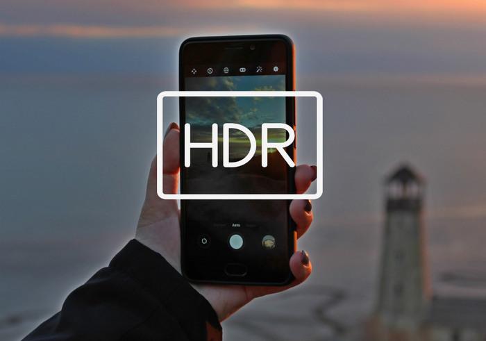 HDR в камере телефона
