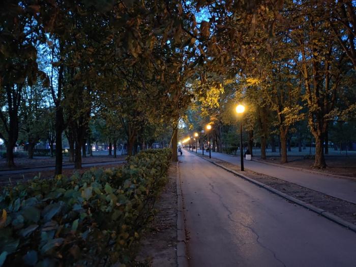 Ночное фото на OnePlus 8