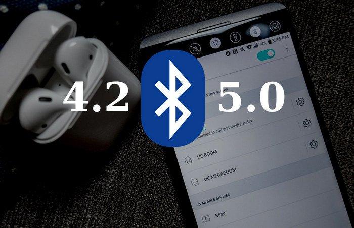 Bluetooth 4.2 и 5.0