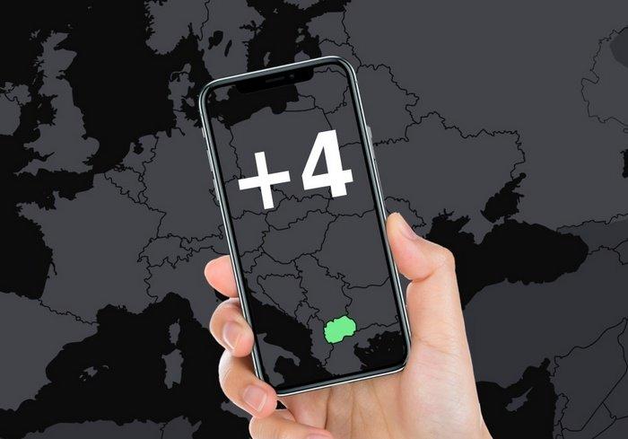 Номера телефонов +4