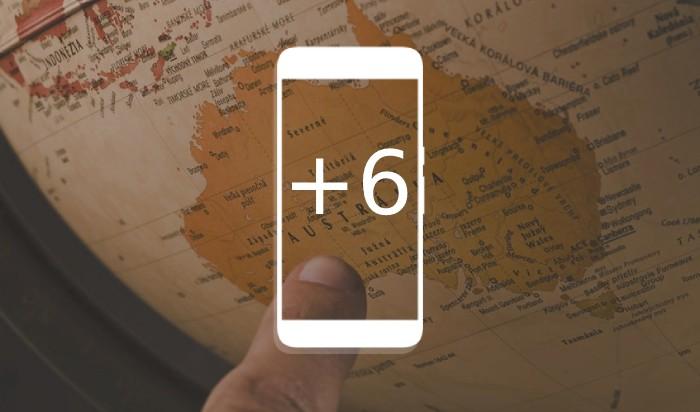 Номера телефонов +6