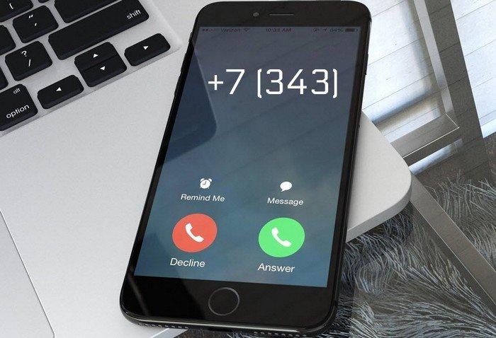 Номера телефонов +7 (343)