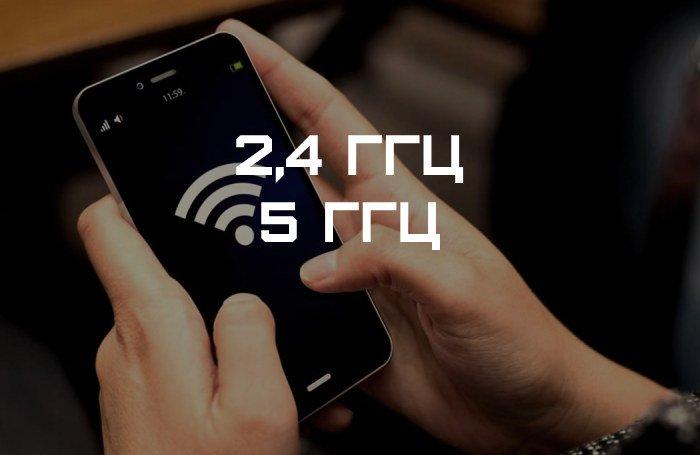 Частота Wi-Fi на смартфоне
